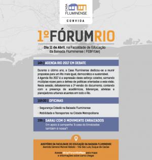 Casa Fluminense - Fórum Rio