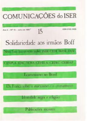 Comunicações do ISER Nº 15