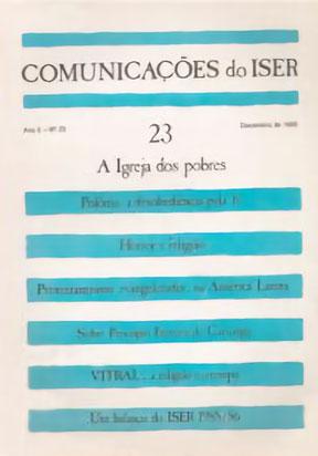 Comunicações do ISER Nº 23