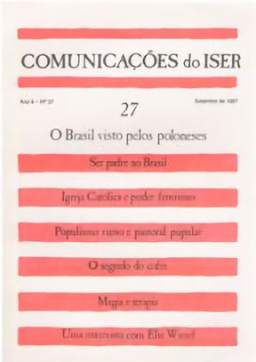 Comunicações do ISER Nº 27