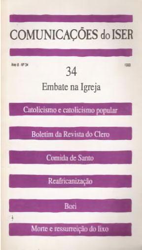 Comunicações do ISER Nº 34