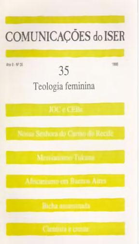 Comunicações do ISER Nº 35